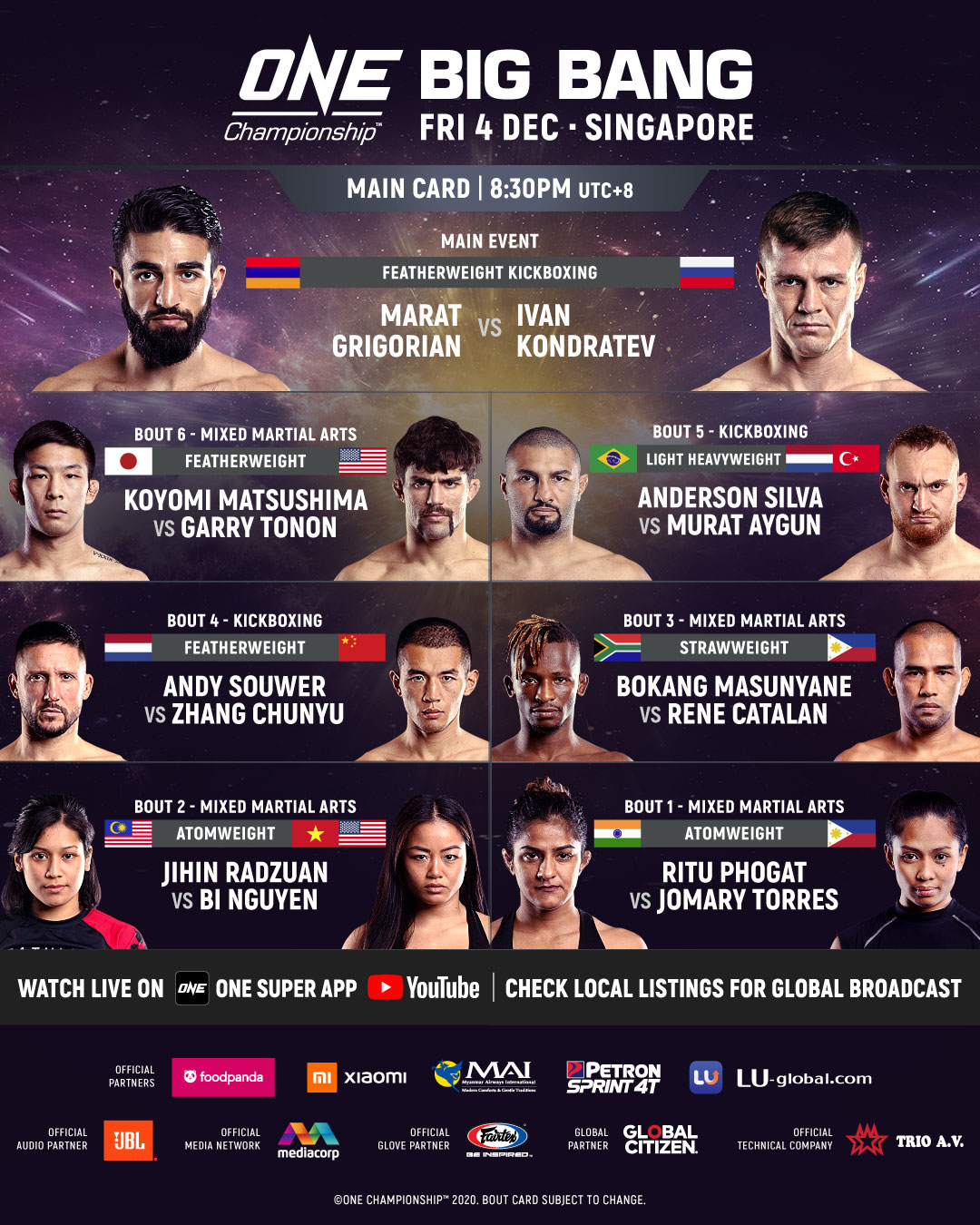 ONE Championship: Big BangPreview