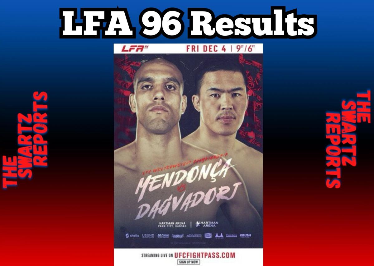 LFA 96 Results