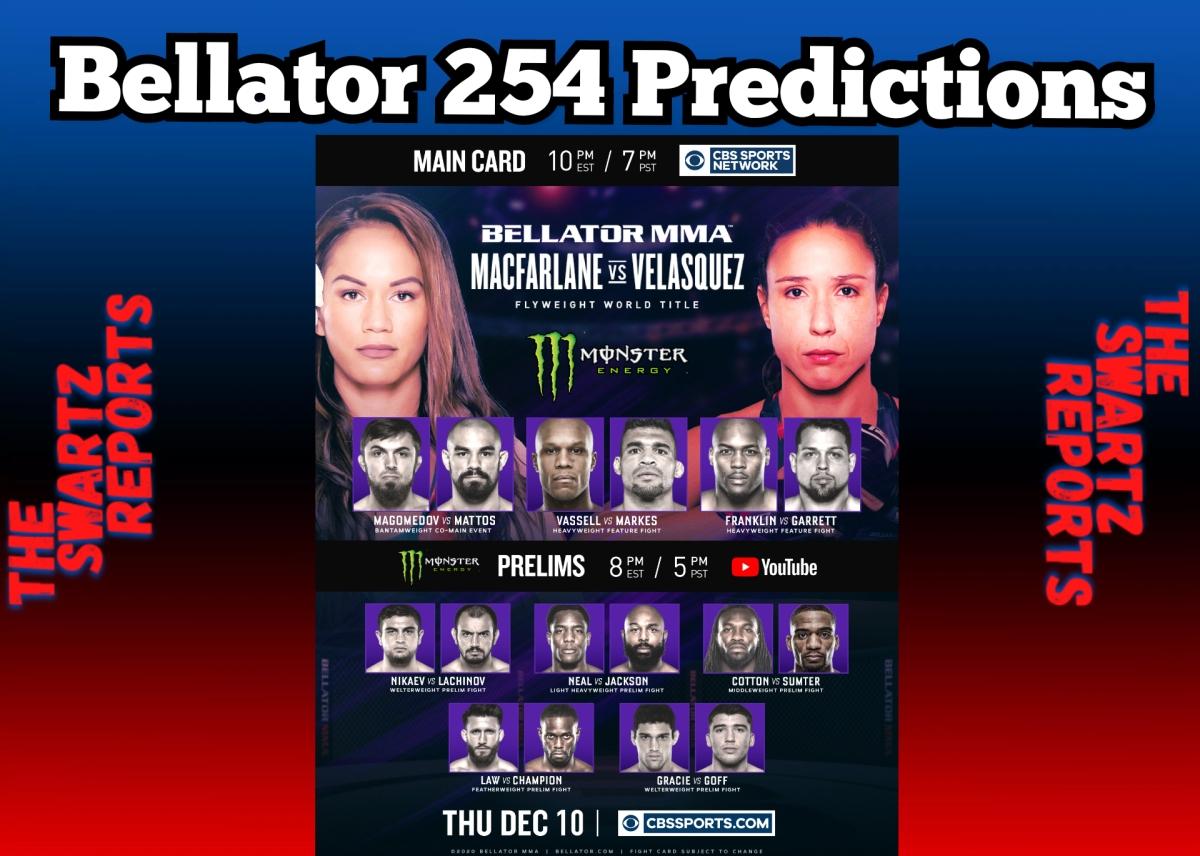 Bellator 254 Predictions: Macfarlane, Neal StayUndefeated