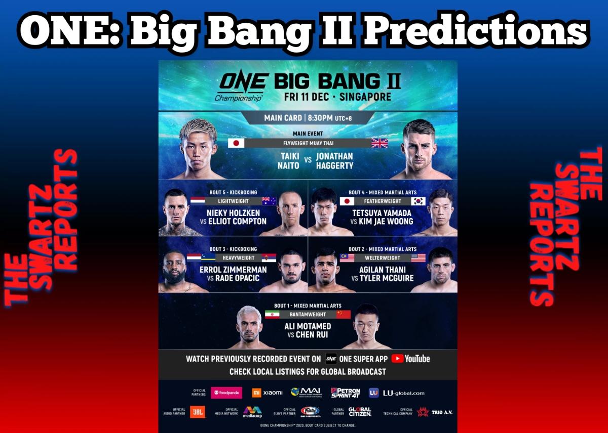 ONE: Big Bang II Predictions – Naito, Holzken WinBig